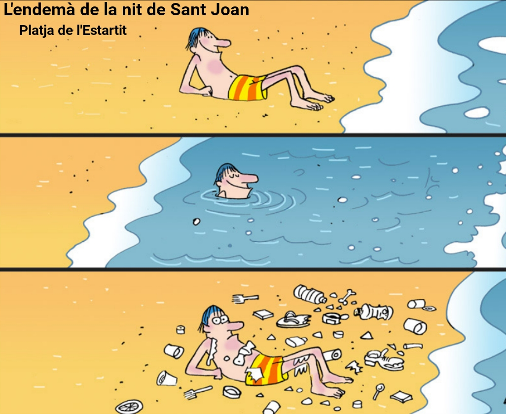Beach Estartit Sant Joan